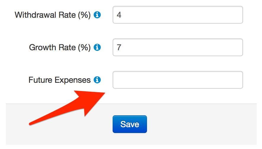 Future Expenses