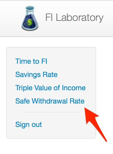 Safe Withdrawal Rate Calculator Link