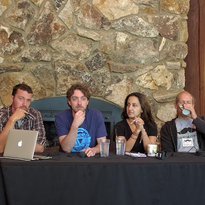 Camp Mustache Panel