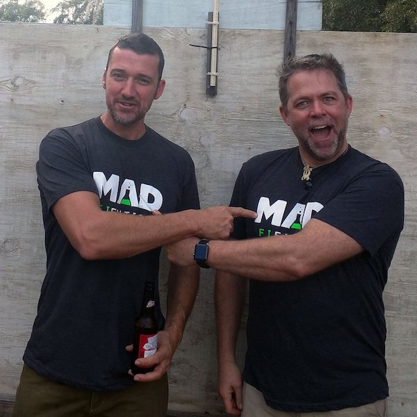 Mad Fientist T-Shirts - MMM and JD Roth